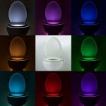 Smart PIR Motion Sensor Toilet Seat Night Light 8 Colours aliexpress