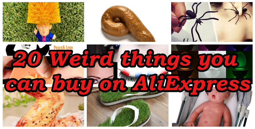 20 Weird Things From AliExpress