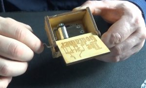 The Godfather Carved Music Box Bought From Aliexpress