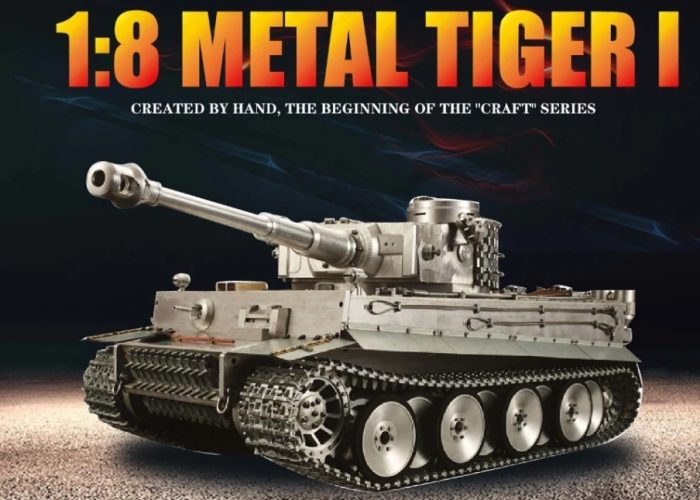 1/8 Scale German Tiger I RTR RC Tank from aliexpress